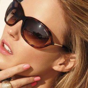 "Tom Ford ""Jennifer"" Style Brown Sunglasses EUC"